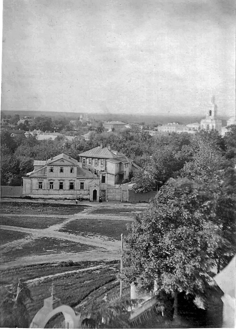 Вид с колокольни Вознесенской церкви на север
