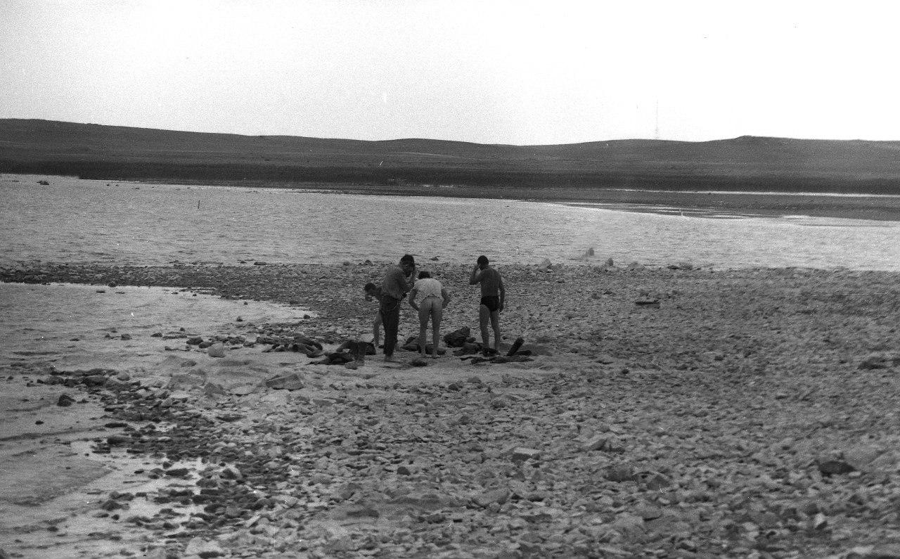 Казахстан. Купание на Балхаше. 1970-е