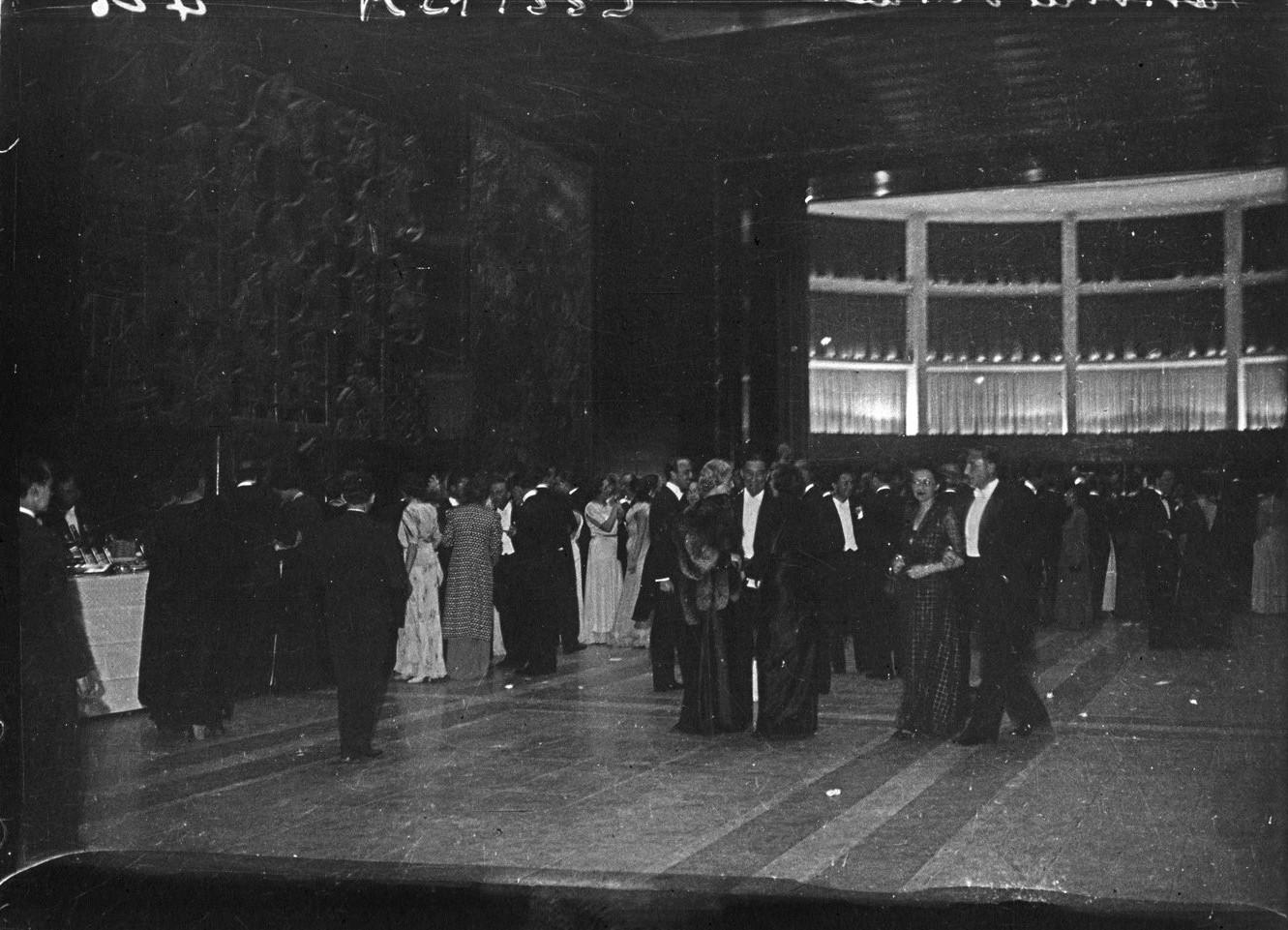 Открытие павильона города Париж (Музей современного искусства). 24 мая 1937