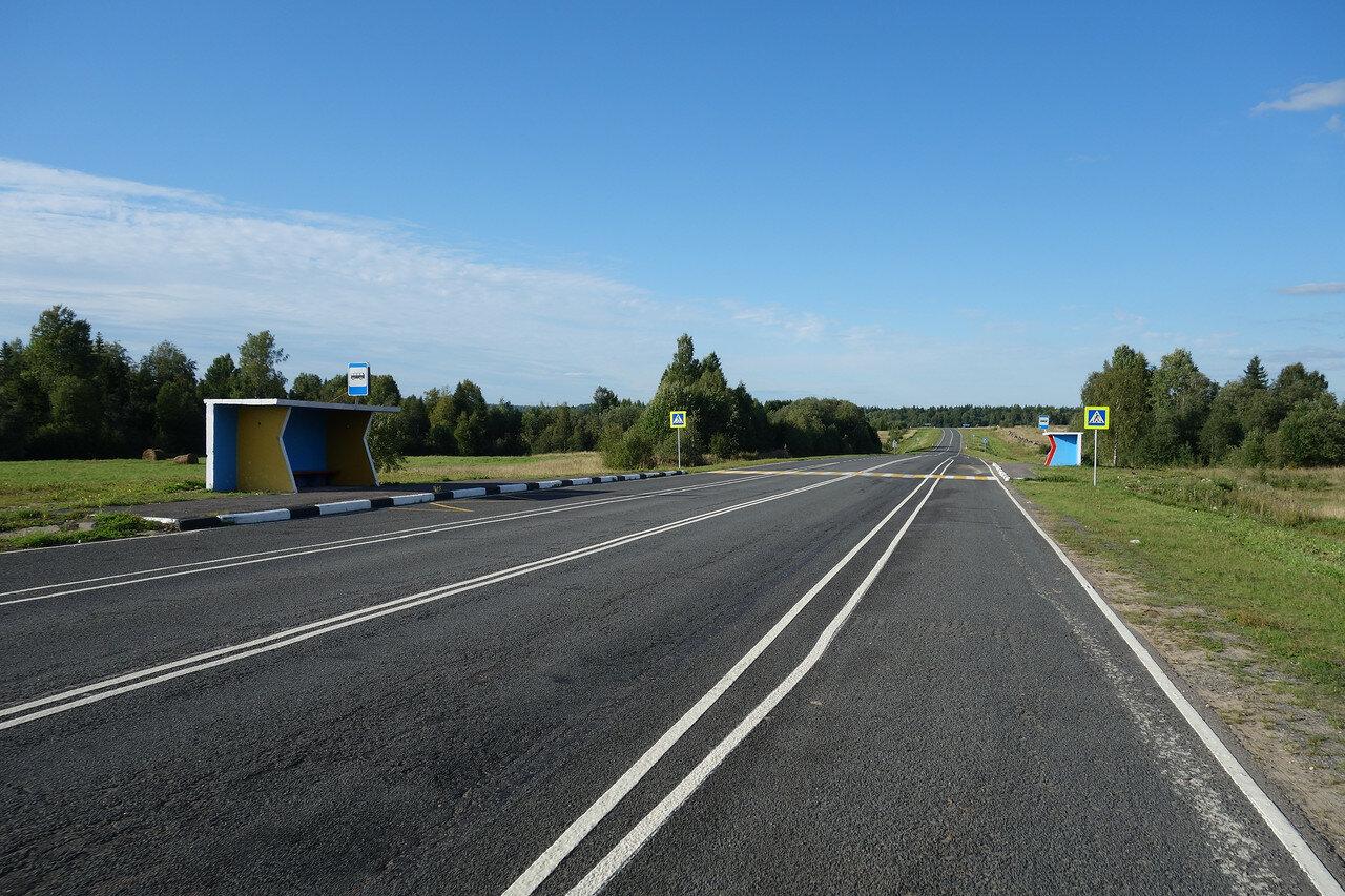 пустая трасса А-119