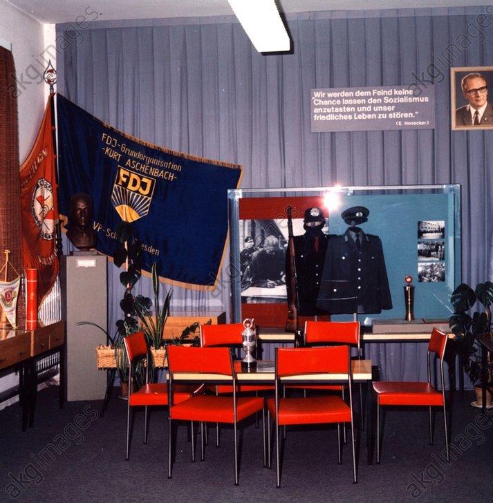 DDR-Volkspolizei/Museum / Foto 1983 - -