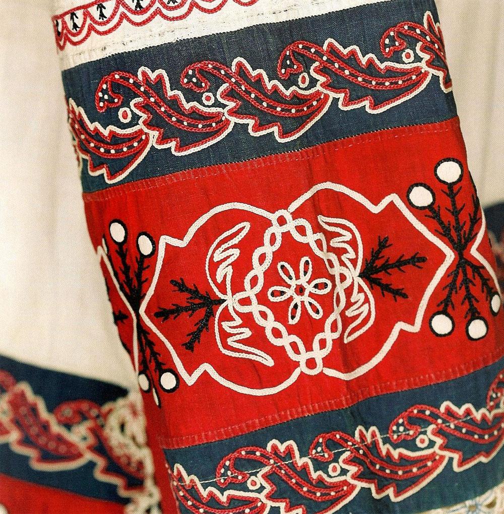 Вышивка стиль русский 9