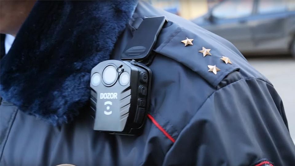 Полиция с камерой
