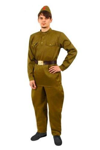 Мужской карнавальный костюм Военная форма