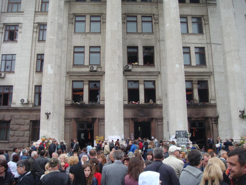 Одесса. 10 мая 2014 года