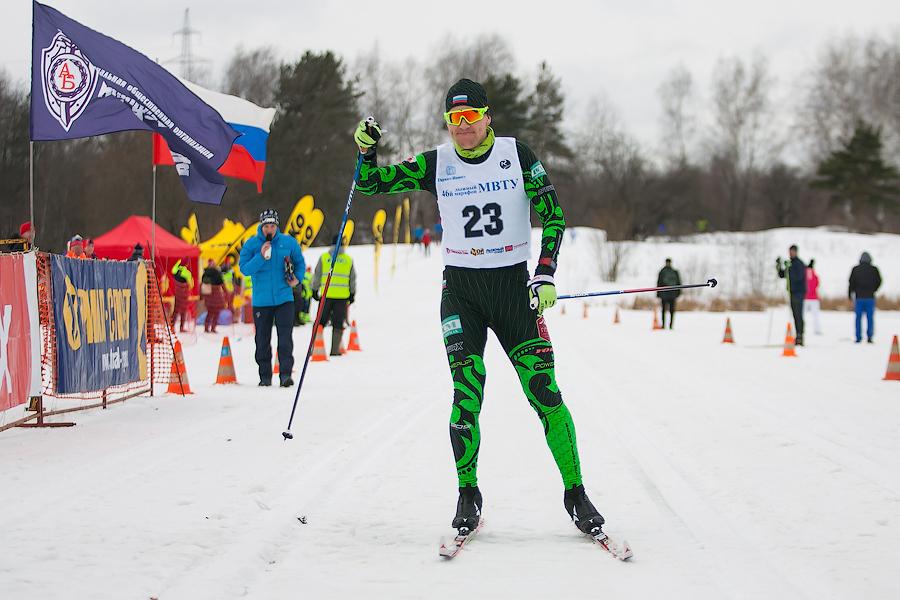 Николай Болотов, МС, чемпион России, член Русской марафонской команды - абсолютный чемпион 46-го Лыжного марафона МВТУ