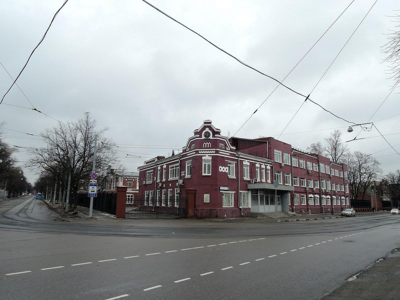 Улица Матросская Тишина. СВАРЗ.