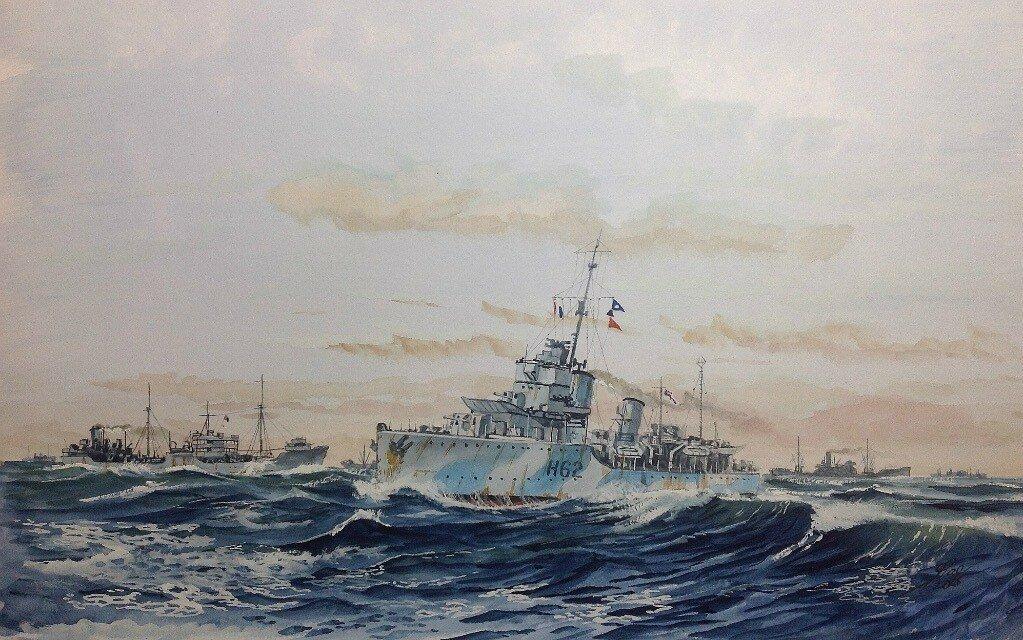 HMS Faulknor.