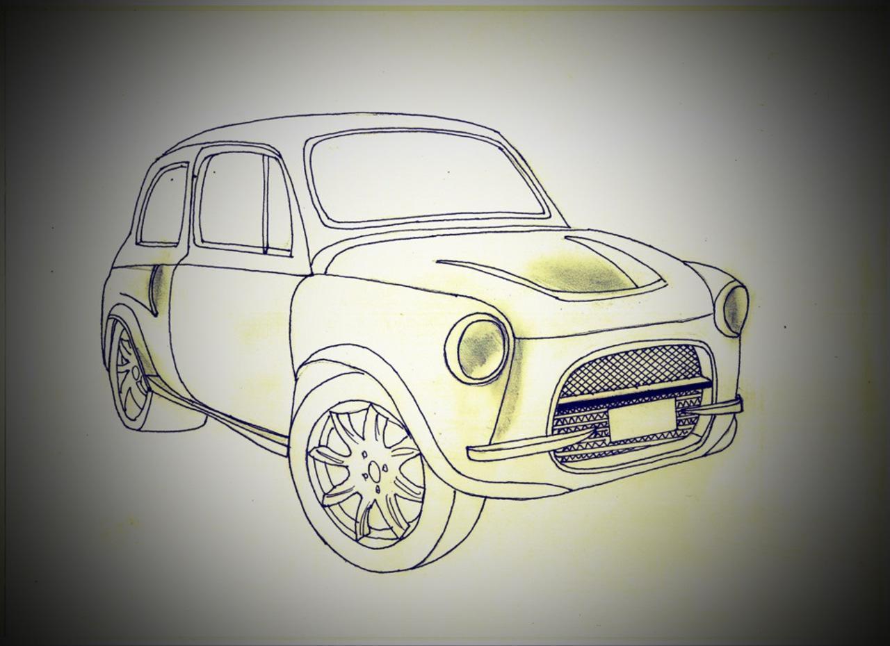 Как только автомобиль был покрашен в цвет Форд Мустанг Шелби серый металлик и собран, на него устано