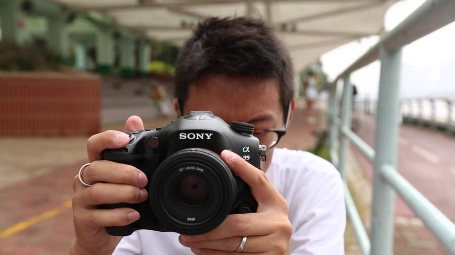 4. Майк Ямасита, Sony Alpha A99 В 2008 году Sony объявила о выходе камеры с датчиком полного кадра.