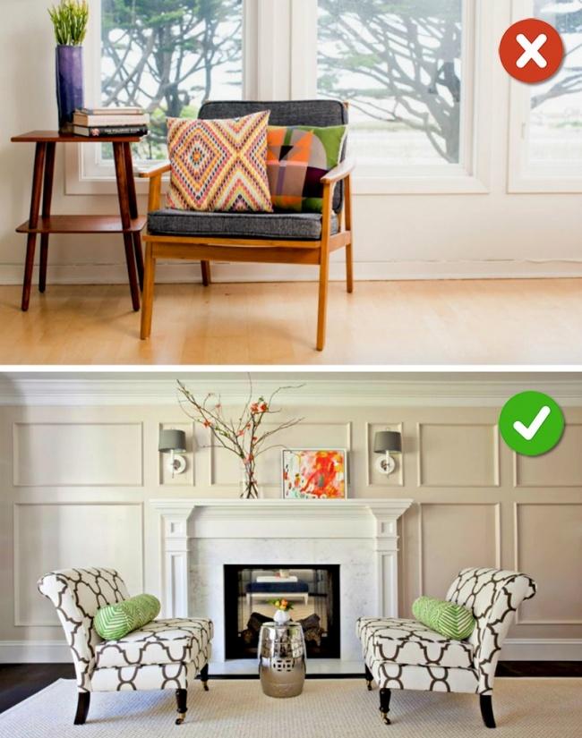 © brit  © homester  Просто потому, что мебель выглядит красиво, незначит, что она подой