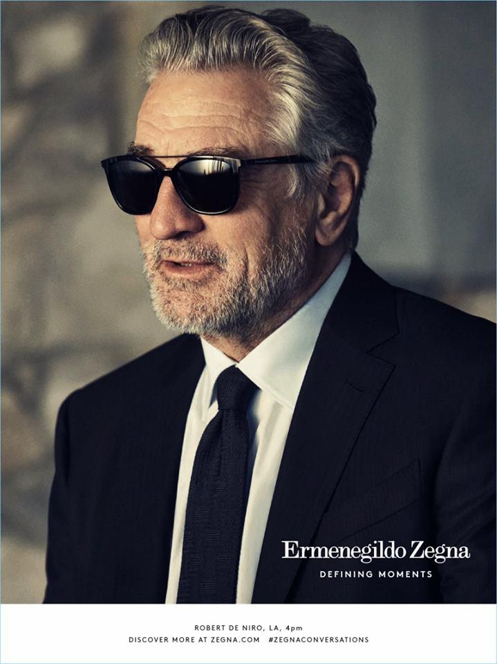 Роберт де Ниро для Ermenegildo Zegna