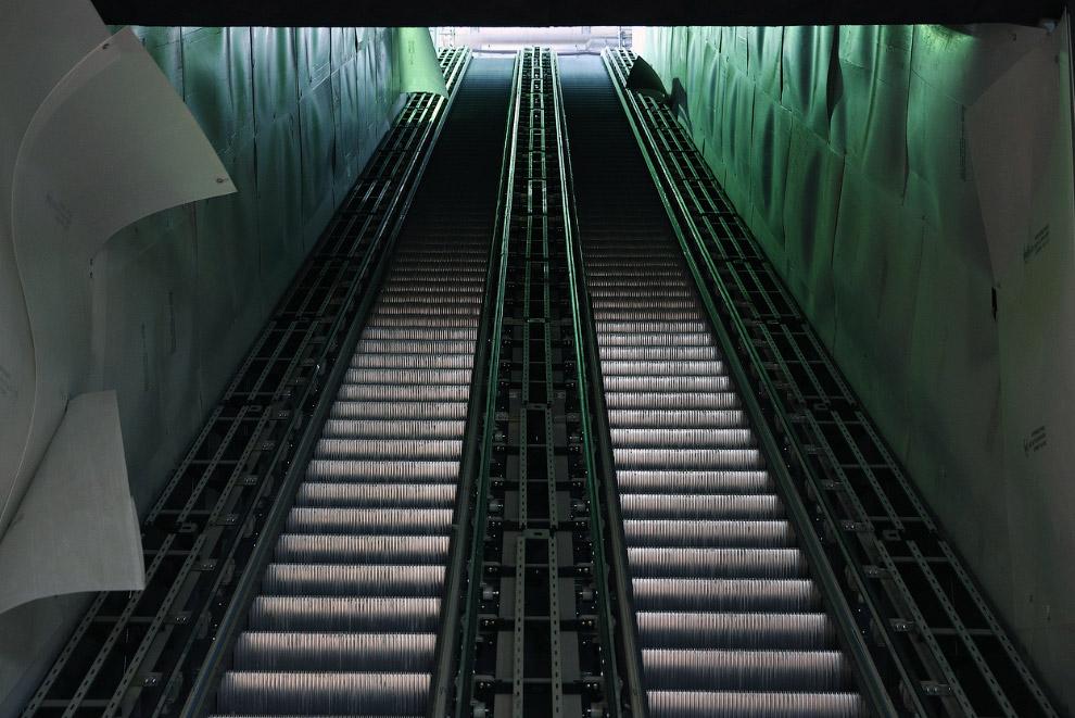 Строительство тоннеля под восточной частью Лондона, 14 декабря 2012. (Фото Reuters | Andrew Win