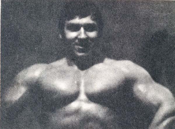 Александр Лемехов — первый чемпион СССР по культуризму.