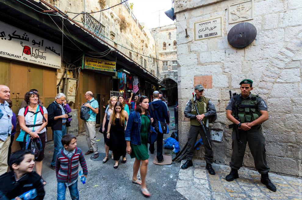Переулки Иерусалима: