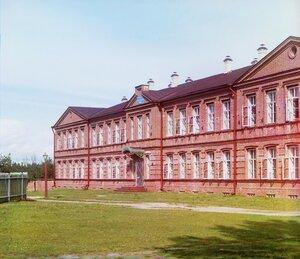 Леушинская женская школа. 1909