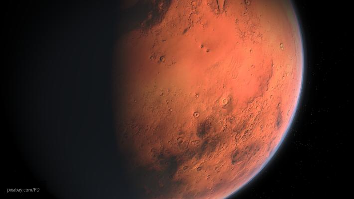 Виртуальный исследователь нашел  наМарсе занятную  статую