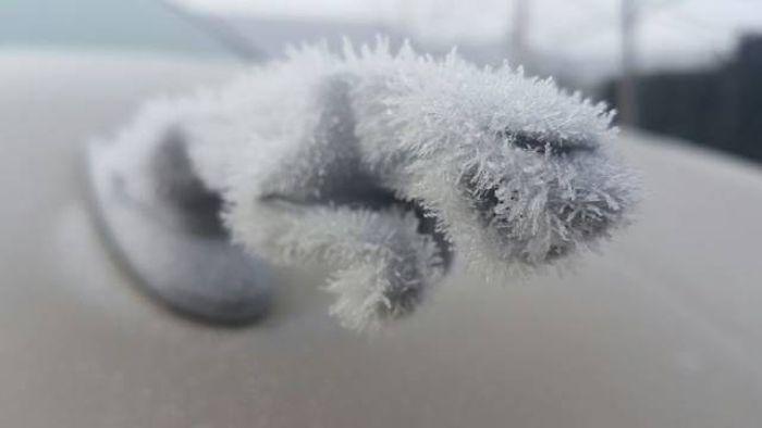Замерзших машинок пост