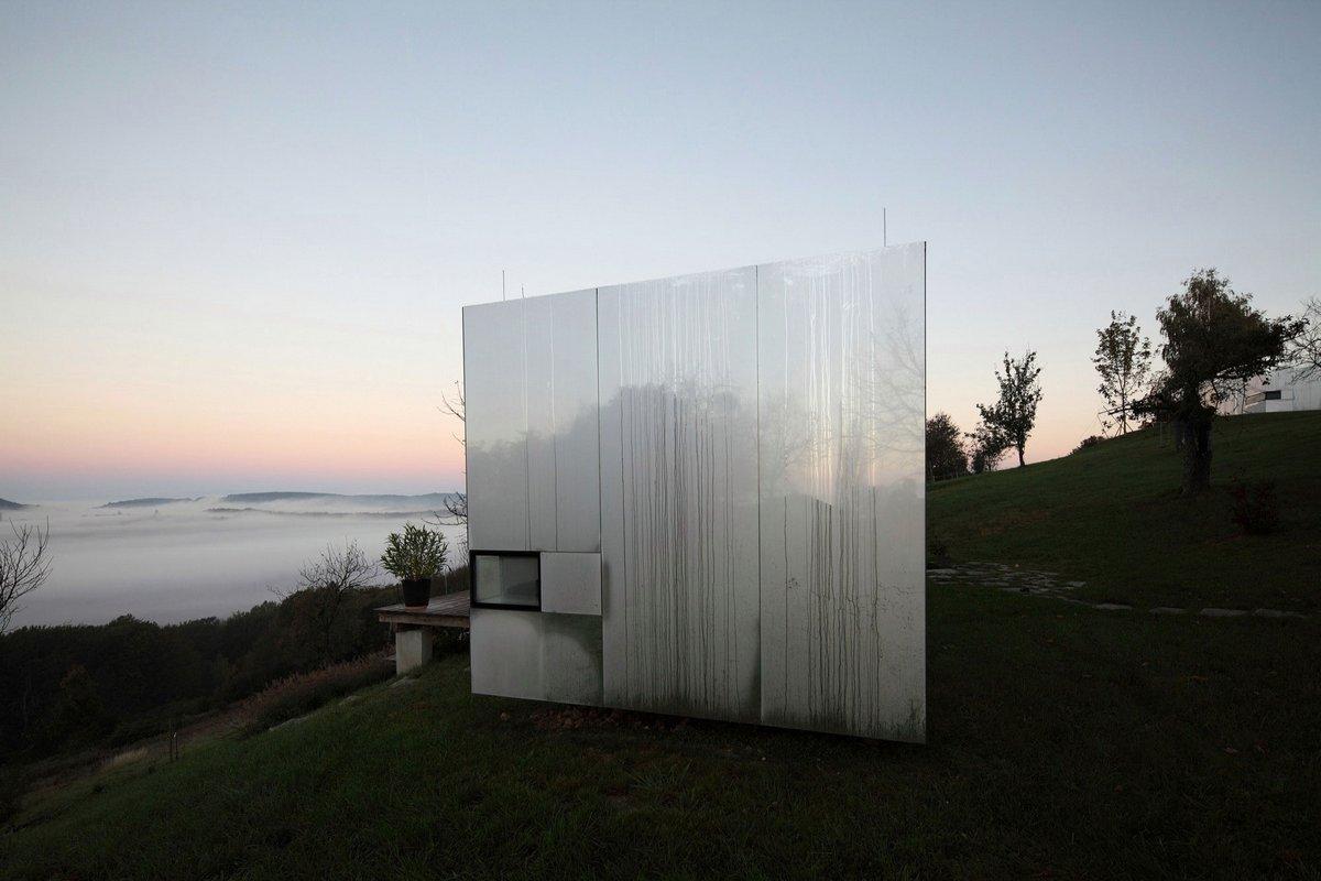 Зеркальный дом в Австрии