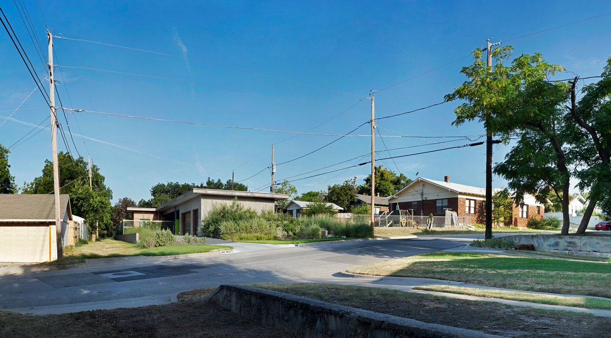 Современный американский дом в Техасе
