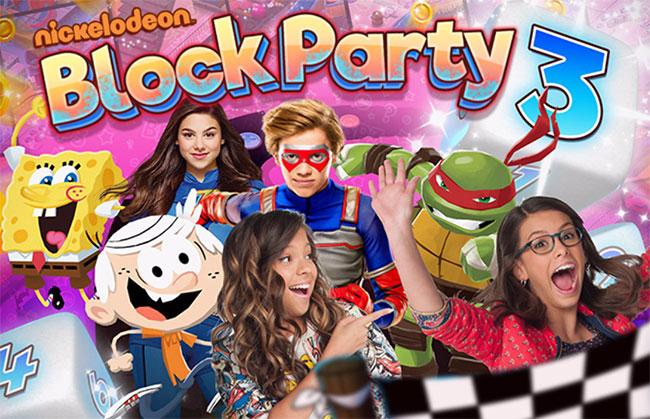 Губка Боб - Настольная Игра 3 (Block Party 3)