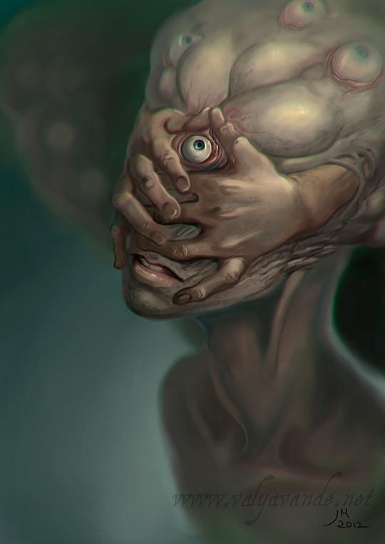 Fantasy Illustrations by Julia Metzger