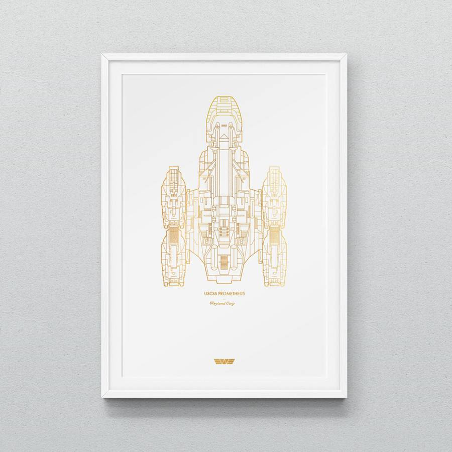 Latest Star Strek Spaceships Prints by Dean Smith