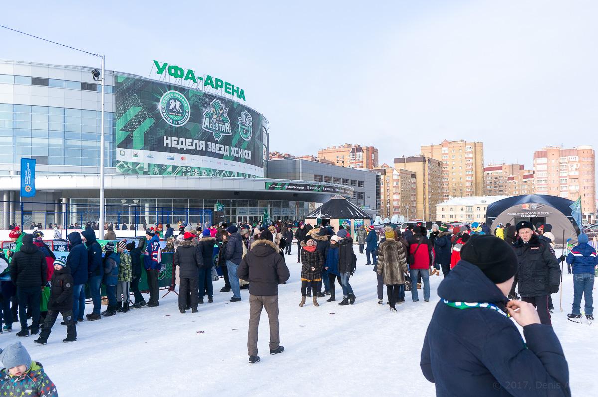 Матч Звёзд КХЛ 2017 фото 1