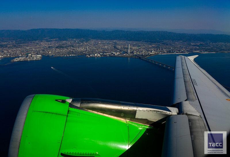 До сакуры за два часа: прямой рейс S7 Airlines связал Владивосток и японскую Осаку