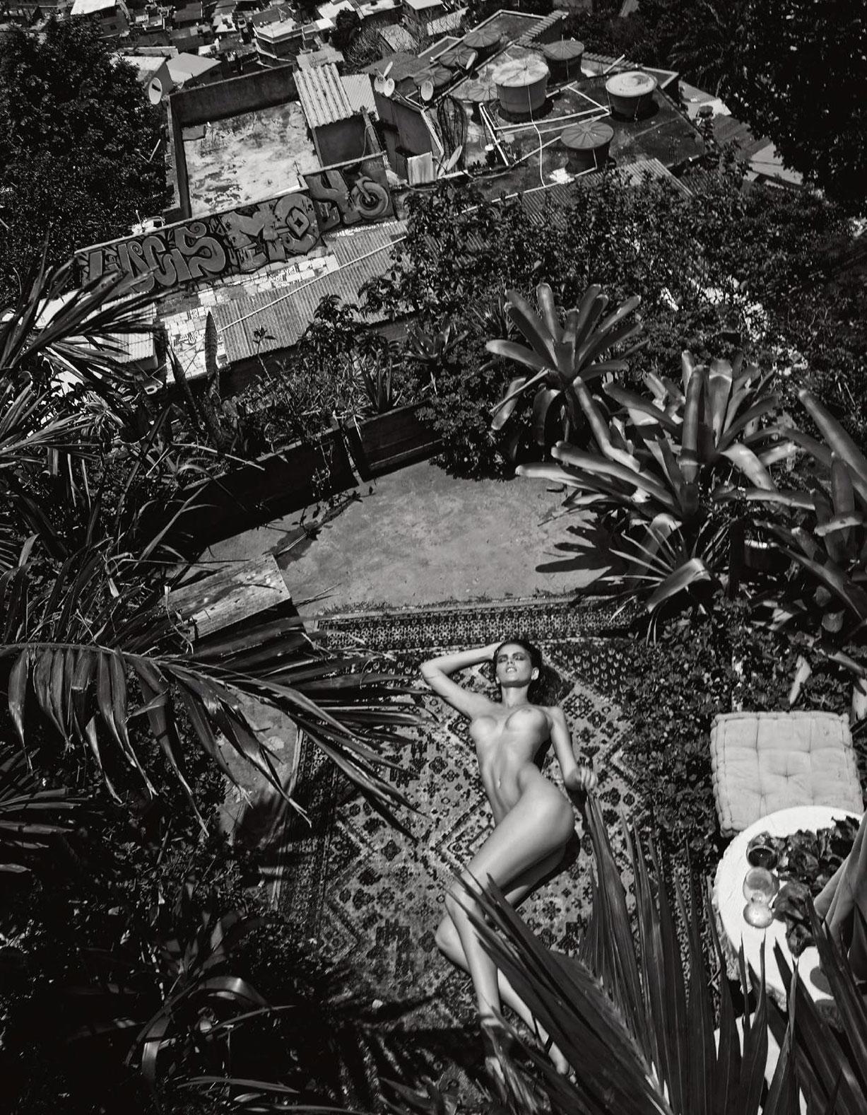 обнаженная Камила Хансен / Kamila Hansen nude by Fe Pinheiro - Lui Magazine february 2017