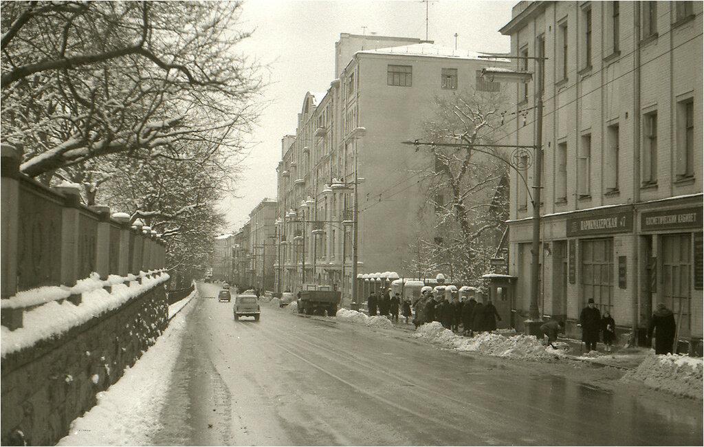 Москва. Гоголевский бульвар. 1961 год..jpg