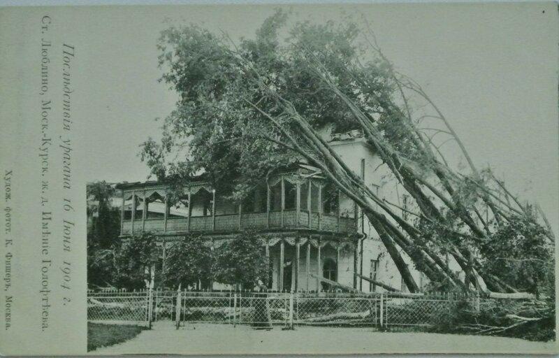 89029 Имение Конона Голофтеева после урагана. Люблино 1904 К. Фишер.jpg