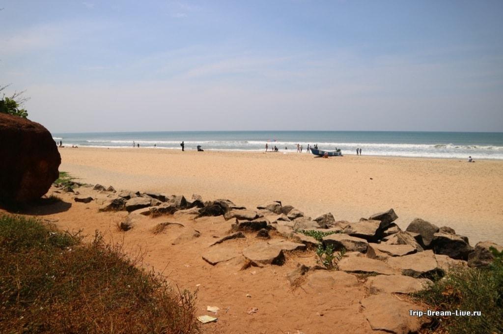 Северный пляж Варкалы