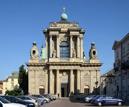 15Церковь Успения Божией Матери и Святого Иосифа (часть бывшего кармелитского монастыря) в Варшаве (современное фото).jpg