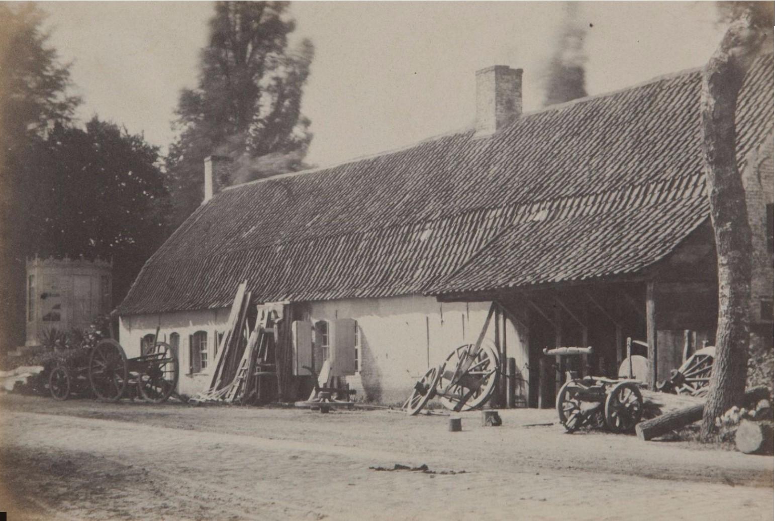 1853. Крестьянская ферма. Франция