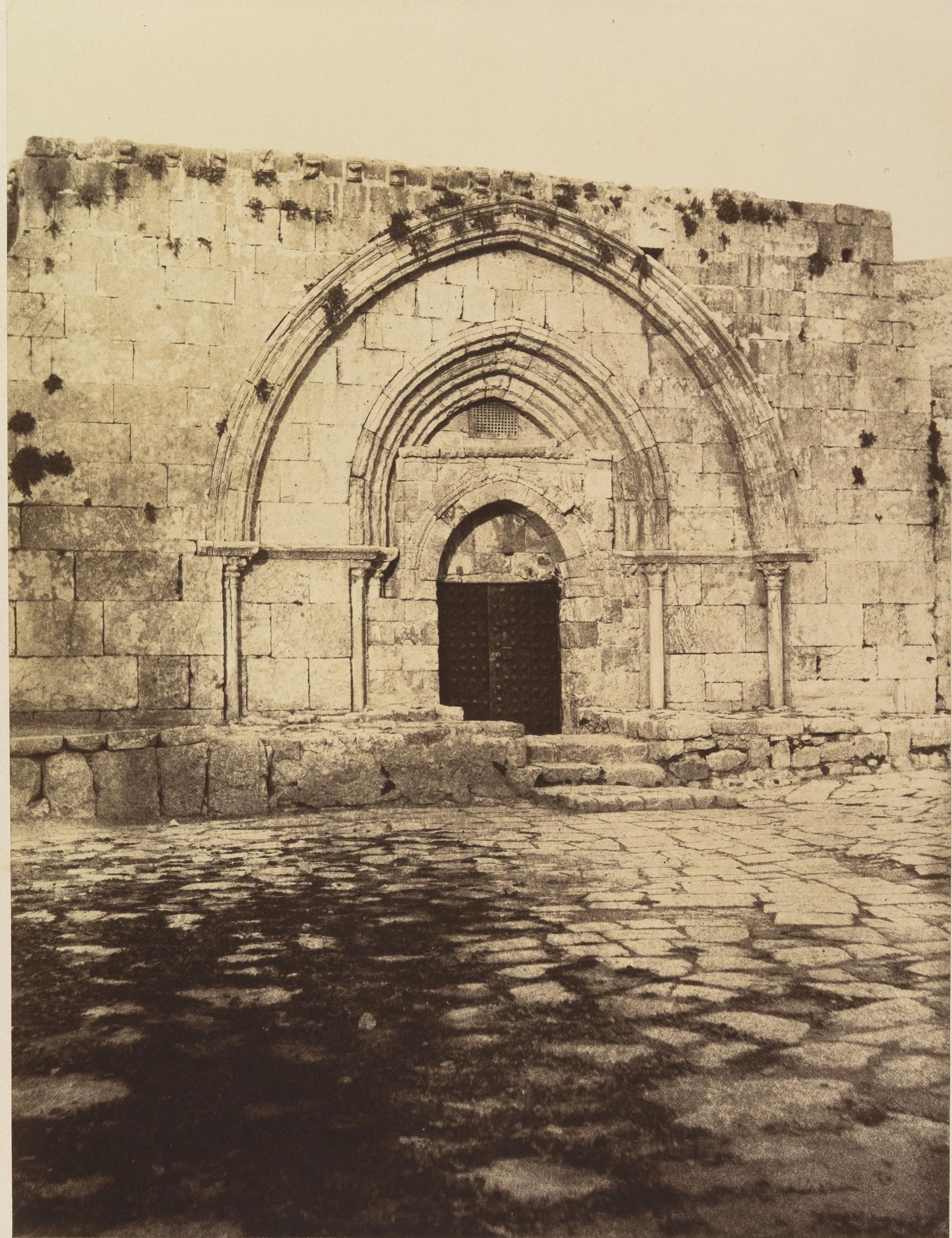 Окрестности Иерусалима.  Гробница Богородицы