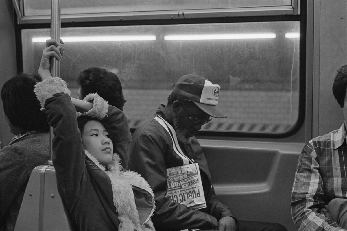 1982. Вагон метро на маршруте F,