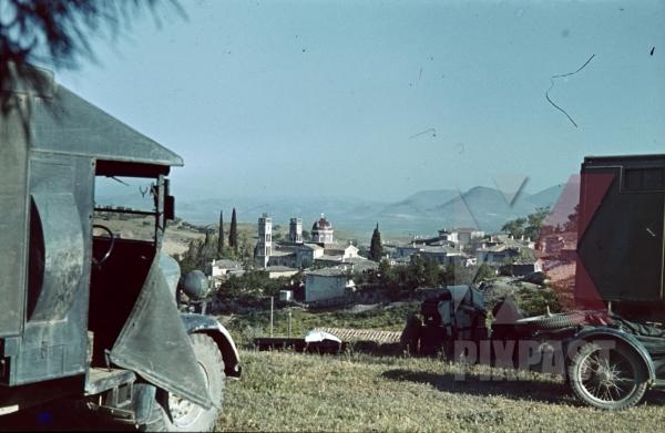stock-photo-captured-british-english-bedford-trucks-lorries-wehrmacht-greece-1942-redcross-ambulance-bmw-motorbike--9920.jpg