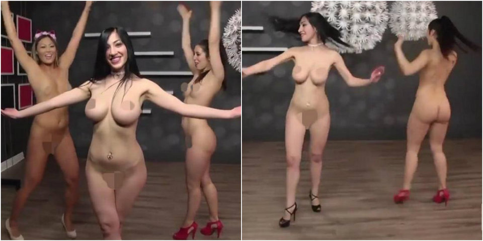 Ведущие «Голых новостей» станцевали украинский танец