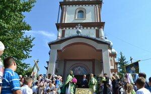 Înnoirea bisericii din Scumpia
