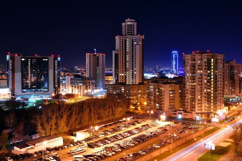 Екатеринбург (таймлапс видео)