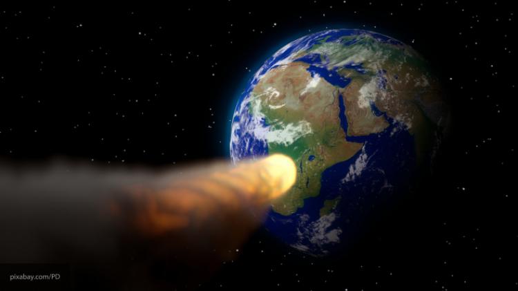 Ученые: НаЗемлю 13 000 лет назад упала комета