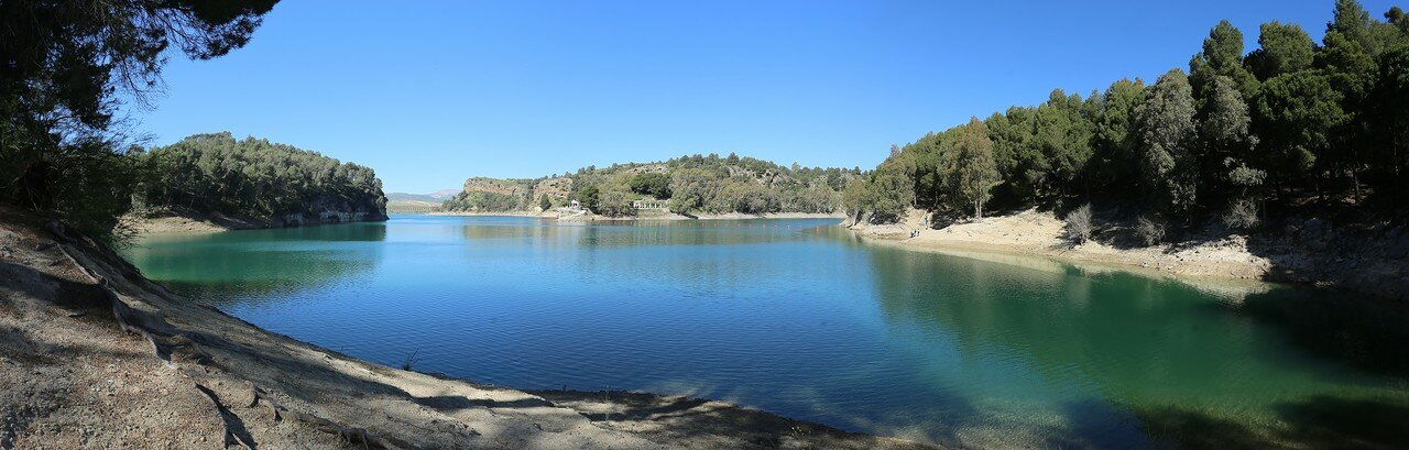 Reservoir Condo del Guadalhorce (Embalse Conde de Guadalhorce)