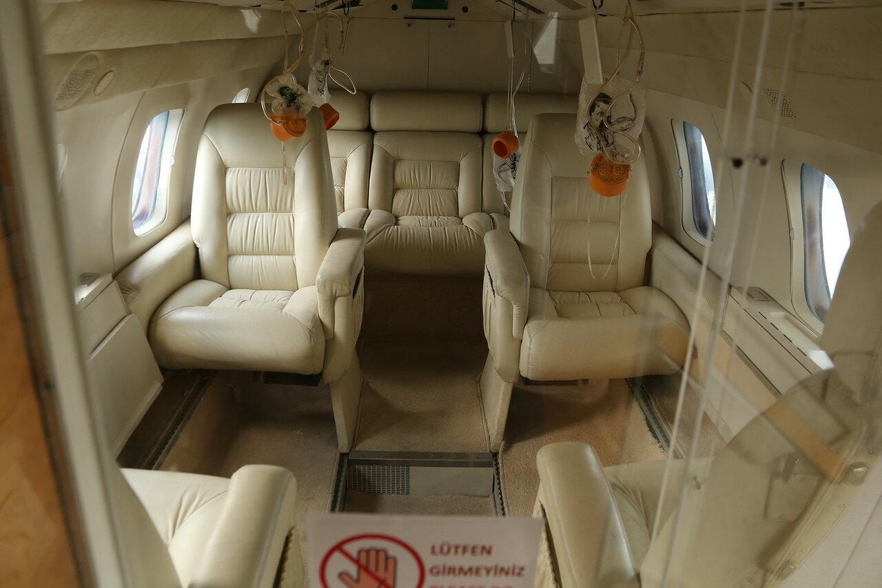 Стамбул. Музей Рахими Коча. Самолёт бизнес-класса HFB-320 Hansa Jet