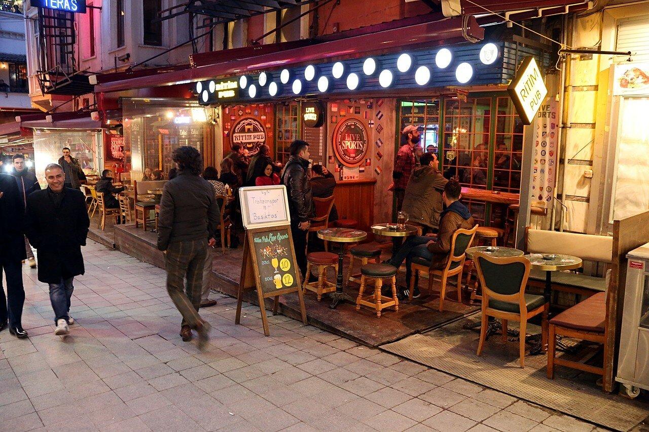 Вечерний Стамбул. Бейоглу, рестораны квартала Хусейнага (Hüseyinağa)