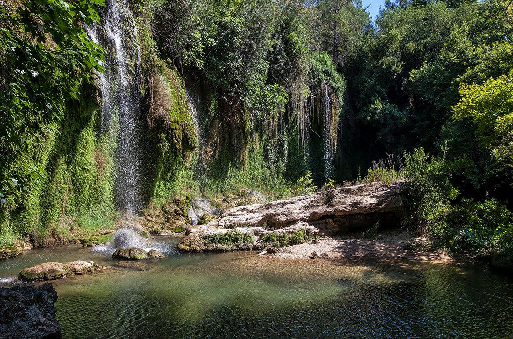 Водопад Куршунлу...