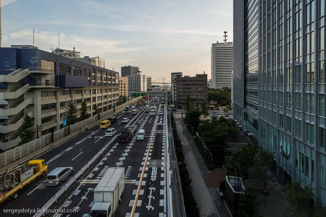 15. Приближаемся к центру Токио.