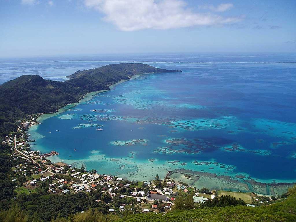 Остров Питкэрн (Великобритания) Крошечный остров в Тихом океане (это заморская территория Великобрит