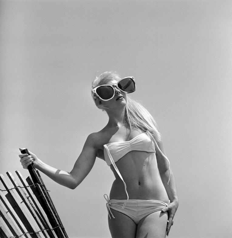 22. Модель Джун Пикни, 1960 г. (Stan Wayman—Time & Life Pictures/Getty Images)