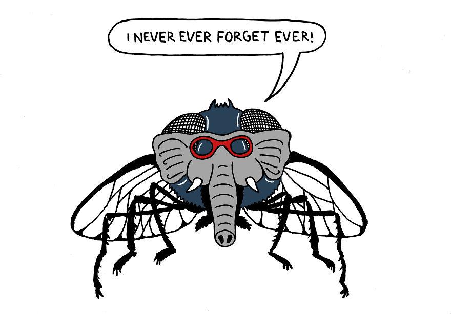 Русские не преувеличивают, а превращают мух в слонов.